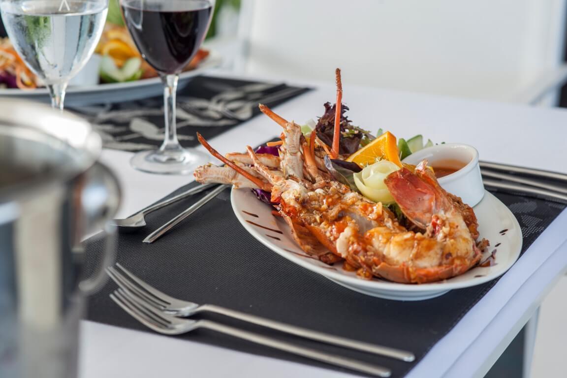 Azalea fresh lobster