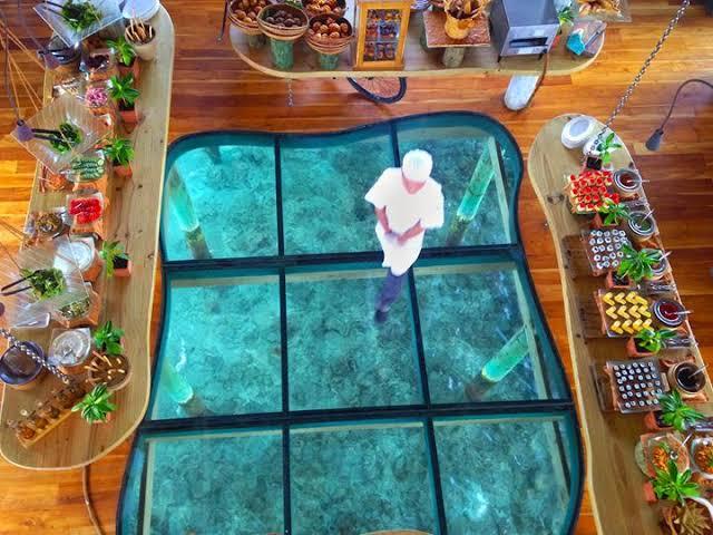 Six Senses Laamu Maldives dining